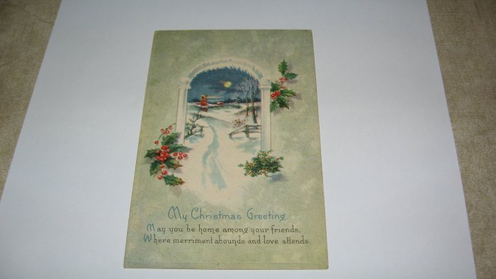 My Christmas Greeting  Postcard lot  c 29