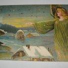 Christmas Greetings Angel Postcard lot  c32