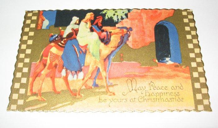 Wisemen Christmas Postcard lot  C68