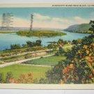 Mississippi River La Crosse,Wi postcard W13