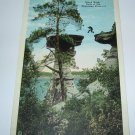 Stand Rock Wisconsin Dells,Wis. postcard W41