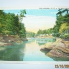 The Narrows Wisconsin Dells,Wis. Postcard W43