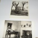 2 Old Indian Agency House Portage Wi.black and white postcards W50