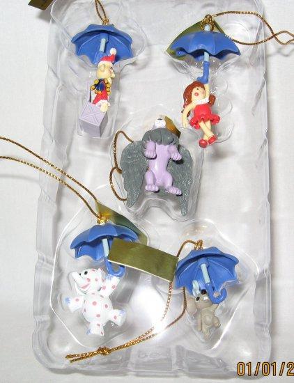 Miniature Ornament set lot of 5 pieces
