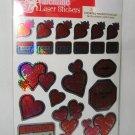 51 Valentine Lazer Stickers