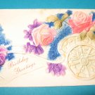 Vintage Postcard Birthday B21