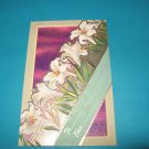 Easter Lilies Embossed Postcard E22