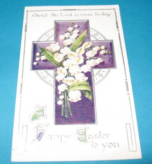 Easter Postcard Printed in England E27