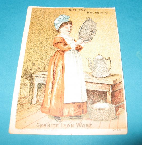 Granite Ironware trade card