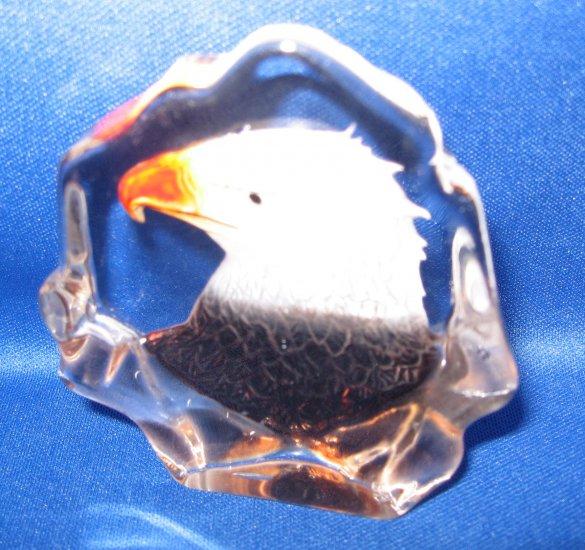 Eagle Crystal Figurine