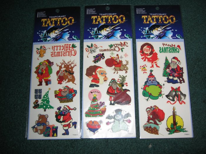 Christmas Tattoo 3 packages