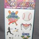 Baseball Jeans Transfers