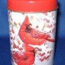 Cardinal Christmas Tin