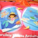 Dora the Explorer reversible throw