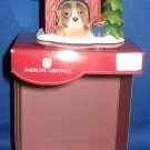 Dog in Doghouse Christmas ornament