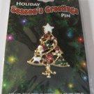 Christmas Holiday Seasons Greetings Christmas Tree  Pin
