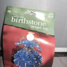 Safety Pin birthstone angel Kit September Sapphire