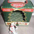 1998 Coca Cola Walrus sitting on ice cube with coke bottle