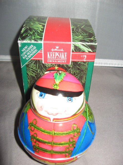 Hallmark Keepsake Jolly Wolly Soldier ornament