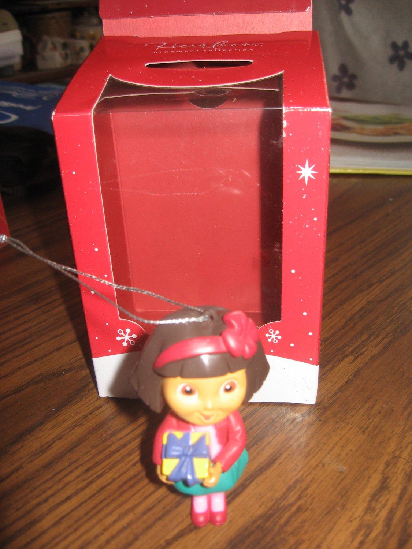 2014 Dora the Explorer Christmas ornament