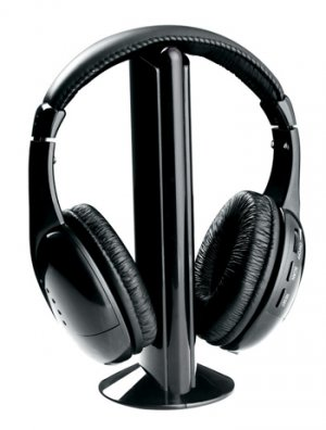 Naxa NX-922 Professional 5 in 1 Wireless Headphone System