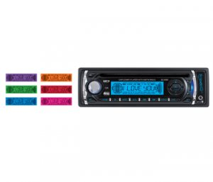 Supersonic SC-6060M Car Audio with AM/FM, CD, Player