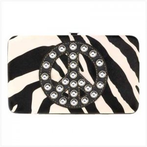 Null Jeweled Peace Fashion Wallet