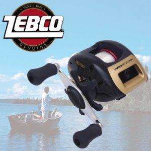 Zebco Professional Bait Cast Reel