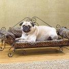 Null Safari Print Pet Bed