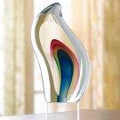 Null Rainbow Wave Sculpture