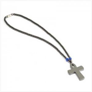 Null Eternal Life Cross Necklace