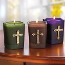 Null Jeweled Cross Votives
