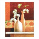 Null Orchid Vase Canvas Print