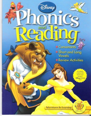 Disney Beauty and the Beast Phonics and Reading
