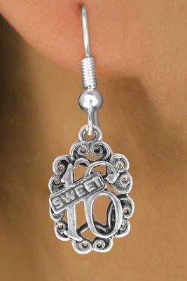 Sweet 16 Chain Necklace, Bracelet & earring set