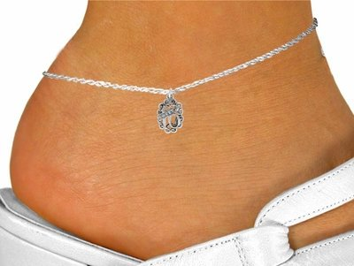 Sweet 16 chain anklet teenager fashion jewelry