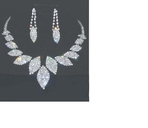 Fashion wedding bridal jewelry set Free shipping