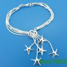 .925 sterling silver bracelets sand dollar charm FREE SHIPPING