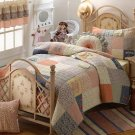 Dress Up All-Cotton Quilt Set-Full or Queen