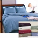 600 tc Supima Cotton Stripe Duvet Cover Set