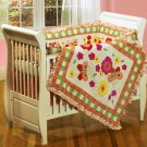 Butterfly Dreams 4-piece Crib Set