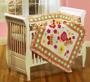Butterfly Dreams 4-piece Crib Set