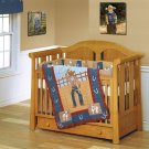 Cowpoke 4-piece Patchwork Crib Set