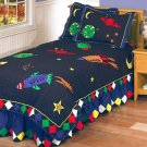 Rocket Patchwork Quilt set