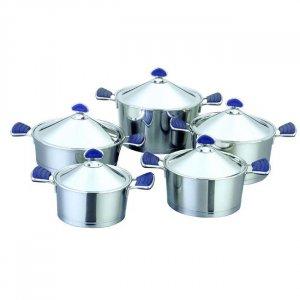 Diamond Stainless Steel 10-piece Cookware Set
