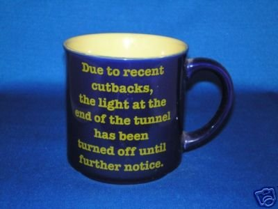 DUE TO RECENT CUTBACKS THE LIGHT COFFEE CUP AS SHOWN