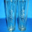 GLASSWARE AS SHOWN~SET OF 2 TIA MARIA BAR GLASSES