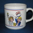 CAMPBELL SOUP KIDS SALUTE AMERICA COFFEE CUP AS SHOWN
