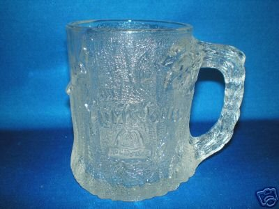 THE FLINTSTONES DRINKING GLASS MCDONALDS 1993