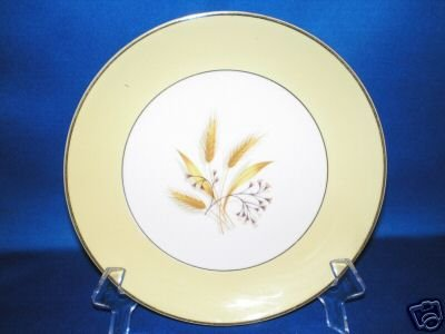 DESSERT SALAD PLATE HOMER LAUGHLIN CENTURY AUTUMN GOLD